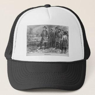 Robert E. Lee mit seinen Soldaten bei Truckerkappe