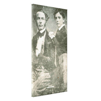 Robert E. Lee u. Lee Sohn-Williams Henry Fitzhugh Leinwanddruck