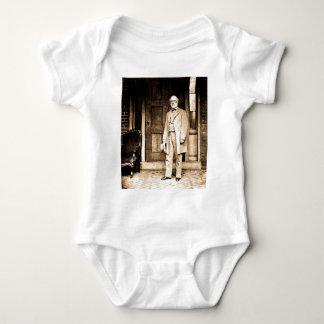 Robert E. Lee - Vintager Mathew Brady Baby Strampler