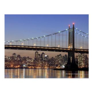 Robert F. Kennedy Bridge Postkarte