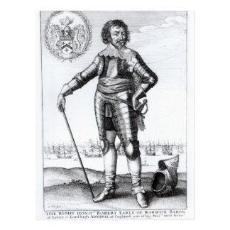 Robert-Reiche, 2. Graf von Warwick Postkarte