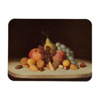 Robert Scott Duncanson - Stillleben mit Frucht Magnet