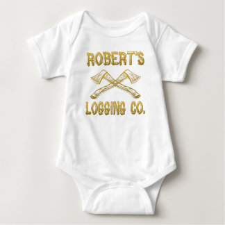 Roberts Logging Company Baby Strampler