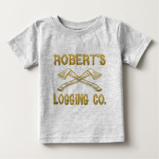 Roberts Logging Company Baby T-shirt