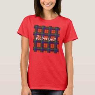 Robertson-Clan karierter schottischer Tartan T-Shirt