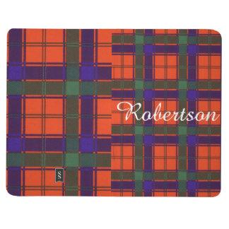 Robertson-Clan karierter schottischer Tartan Taschennotizbuch