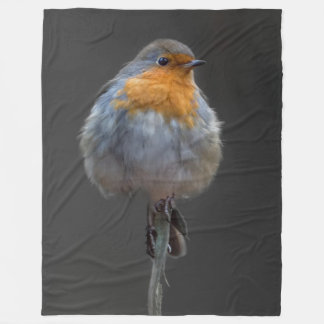 Robin-Decke Fleecedecke