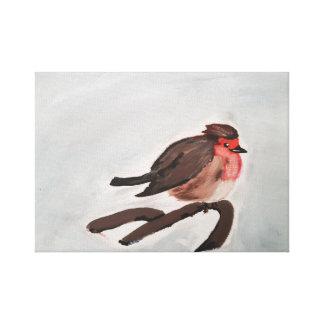 Robin-Leinwand Leinwanddruck