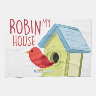 Robin mein Haus Handtuch