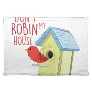 Robin mein Haus Tischset