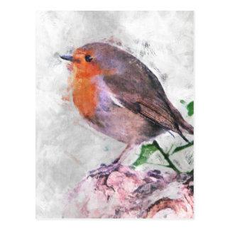 Robin Redbreast Postkarte