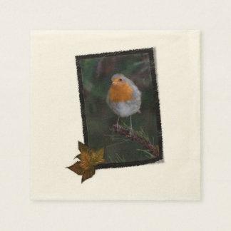 Robin-Servietten Papierserviette
