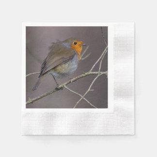 Robin-Servietten Papierservietten