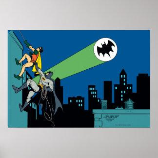 Robin und Batman-Aufstieg Poster