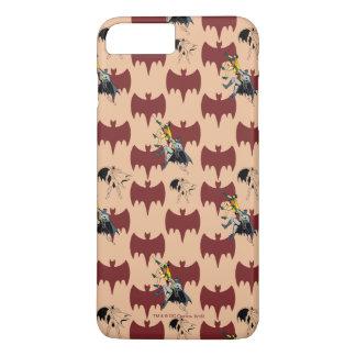 Robin und Batman, die Muster klettern iPhone 8 Plus/7 Plus Hülle