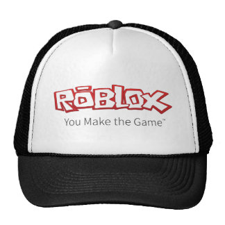 ROBLOX Logo-Fernlastfahrer-Hut Netzcap