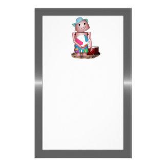 Robo-x9 vergaß den Lichtschutz (Metallhintergrund) Druckpapier