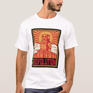 Roboter-Aufstieg T-Shirt