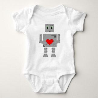 Roboter Baby Strampler