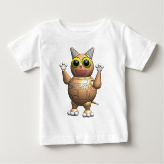 Roboter-Ball-Katzen-Überraschung Baby T-shirt