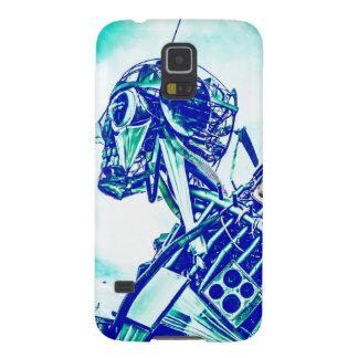 Roboter-Blues Samsung Galaxy S5 Hülle