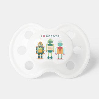 Roboter der Liebe I - einzigartiger Schellfisch Schnuller