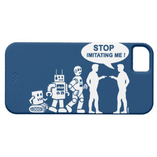 Roboter-Evolution iPhone 5 Etui