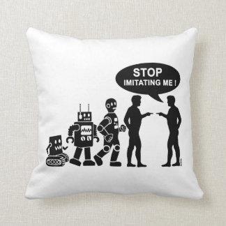 Roboter-Evolution Kissen