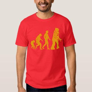 Roboter-Evolution Sheldon Fassbinder-großer Hemd