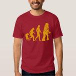 Roboter-Evolution Sheldon Fassbinder-großer Tshirts