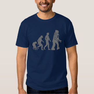 Roboter-Evolution - unsere neuen RoboterOverlords Shirts