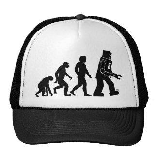 Roboter-Evolutions-Hut Kult Mützen