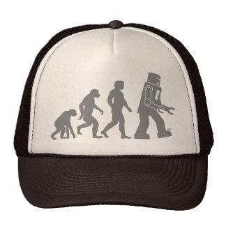 Roboter-Evolutions-Hut Kult Cap