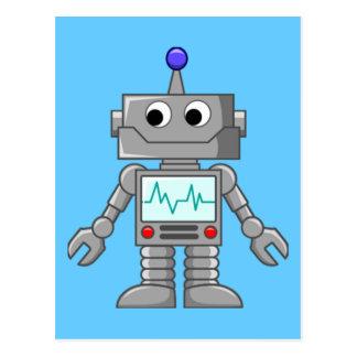 Roboter Freak Postkarten