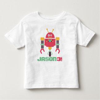 Roboter-Geburtstag Kleinkind T-shirt