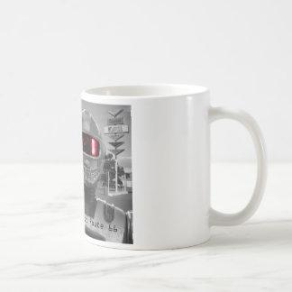 Roboter Giganticus B&W Weg 66 Kaffeetasse