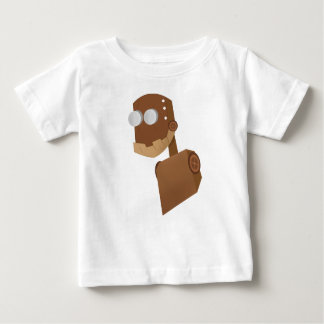 Roboter Holz Baby T-shirt