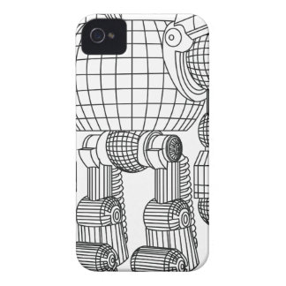 Roboter iPhone 4 Case-Mate Hülle