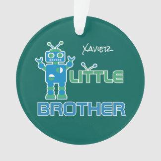 Roboter-kleiner Bruder-personalisierte Ornament