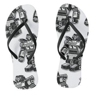 Roboter-Krieger Flip Flops