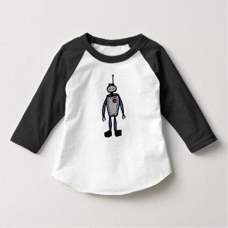 Roboter-Liebe scherzt Baseballt-stück T-Shirt