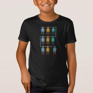 Roboter-Reihe T-Shirt