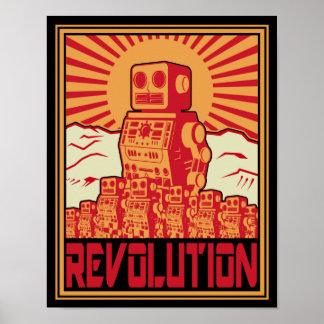 Roboter-Revolution Poster