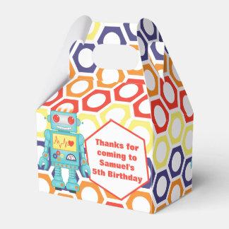Roboter-Themed Party Geschenkschachtel