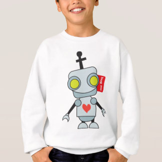Roboter - umarmen Sie mich Sweatshirt