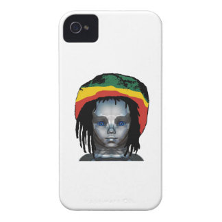 Robotik Rastafarian iPhone 4 Cover