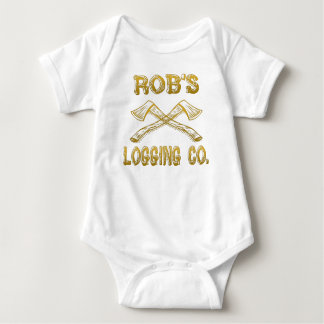 Robs Logging Company Baby Strampler