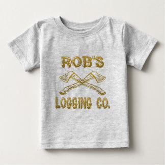 Robs Logging Company Baby T-shirt