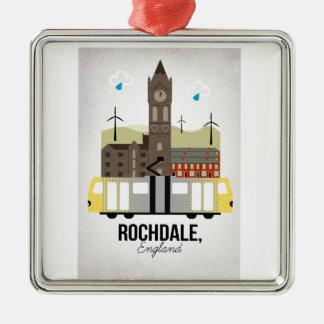 Rochdale Silbernes Ornament
