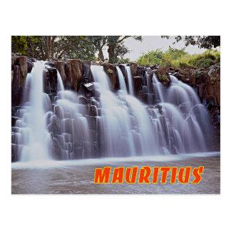 Rochester-Fälle, Mauritius Postkarte